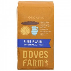 PLAIN WHOLEMEAL FLOUR (Dove's Farm) 1Kg