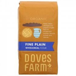 PLAIN WHOLEMEAL FLOUR (Dove's Farm) 1Kg