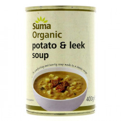 POTATO & LEEK SOUP (Suma) 400g