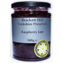 RASPBERRY JAM (Bracken Hill) 340g