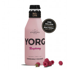 YORG - NATURAL RASPBERRY (Stamfrey Farm) 250ml