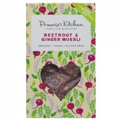 RAW BEETROOT & GINGER MUESLI (Primrose Kitchen) 300g