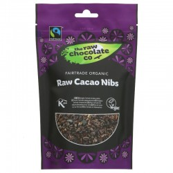 CACAO NIBS (The Raw Chocolate Co.) 180g
