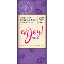 RAW CHOCOLATE - FRUIT & NUT (Enjoy Raw) 40g