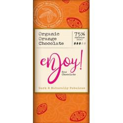 RAW CHOCOLATE - ORANGE (Enjoy Raw) 40g