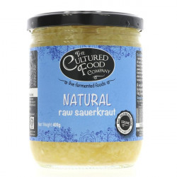 RAW SAUERKRAUT (Cultured Food Co.) 495g