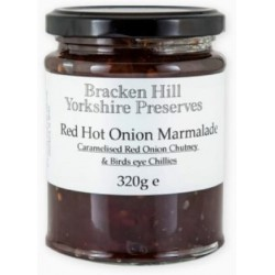RED HOT ONION MARMALADE (Bracken Hill) 340g