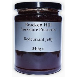REDCURRANT JELLY (Bracken Hill) 340g
