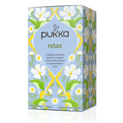RELAX TEA - Chamomile, Fennel & Marshmallow (Pukka) x 20 bag