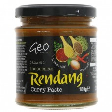 INDONESIAN RENDANG CURRY PASTE (Geo Organic) 180g
