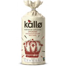 RICE CAKES - THICK & UNSALTED (Kallo) 130g