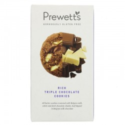 QUADRUPLE CHOCOLATE COOKIE (Prewett's) 150g
