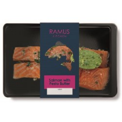 SCOTTISH SALMON WITH PESTO (Ramus) 240g
