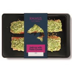 SCOTTISH SALMON WITH PESTO CRUST (Ramus) 240g