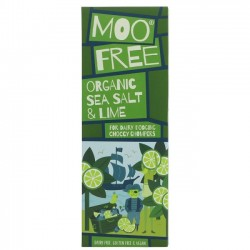 VEGAN SALTED LIME CHOCOLATE (Moo Free) 80g