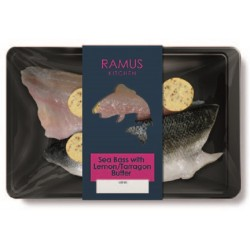 SEA BASS WITH LEMON & TARRGON BUTTER (Ramus) 180g