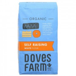SELF-RAISING WHITE FLOUR (Dove's Farm) 1kg