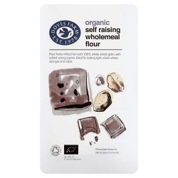 SELF-RAISING WHOLEMEAL FLOUR (Dove's Farm) 1kg