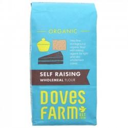 SELF-RAISING WHOLEMEAL FLOUR (Dove's Farm) 1kg