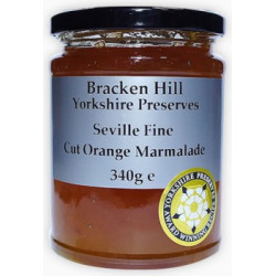 SHREDLESS MARMALADE (Bracken Hill) 340g