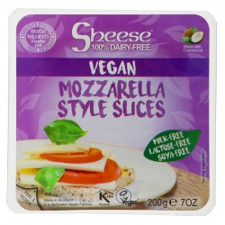 SHEESE - MOZZARELLA STYLE SLICES (Bute Island) 200g
