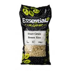 RICE - SHORT GRAIN BROWN (Essential) 500g