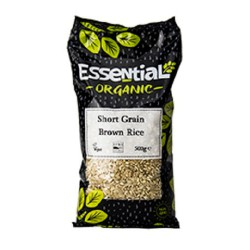 RICE - SHORT GRAIN BROWN (Essential) 500g