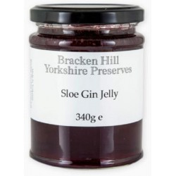 SLOE GIN JELLY (Bracken Hill) 340g
