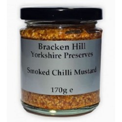 SMOKED CHILLI MUSTARD (Bracken Hill)