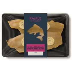 SMOKED HADDOCK WITH MUSTARD BUTTER (Ramus) 200g