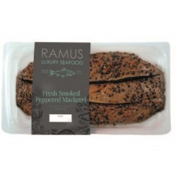 SMOKED PEPPERED MACKEREL (Ramus) 180g
