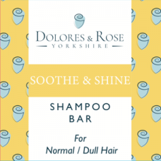 SOOTHE & SHINE SHAMPOO BAR (Dolores & Rose)