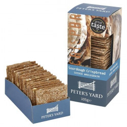 CRISPBREAD - SEEDED (Peter's Yard) 105g