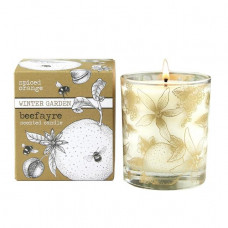 SPICED ORANGE LARGE CANDLE (Bee Fayre)