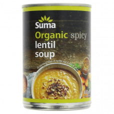 SPICY LENTIL SOUP (Suma) 400g