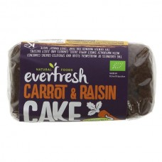 SPROUTED CARROT & RAISIN CAKE (Everfresh) 350g