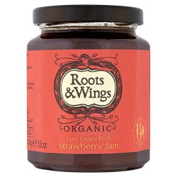 STRAWBERRY JAM (Roots & Wings) 340g