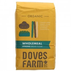 STRONG WHOLEMEAL BREAD FLOUR (Dove's Farm) 1.5kg