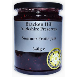 SUMMER FRUITS JAM (Bracken Hill) 340g