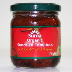 SUNDRIED TOMATOES IN OIL (Mani Organics) 180g