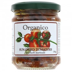 SUNDRIED TOMATOES IN OIL (Organico) 190g