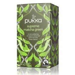 SUPREME GREEN MATCHA TEA (Pukka) x 20 bags