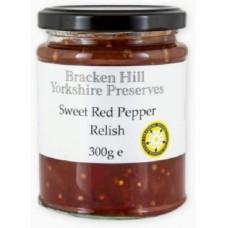 SWEET RED PEPPER RELISH (Bracken Hill) 340g