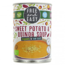 SWEET POTATO & QUINOA SOUP (Free & Easy) 400g