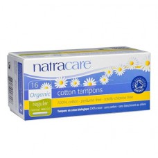 TAMPON WITH APPLICATOR - REGULAR (Natracare) x16