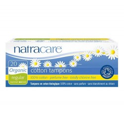 TAMPONS - REGULAR (Natracare) x20