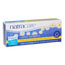 TAMPONS - SUPER (Natracare) x20