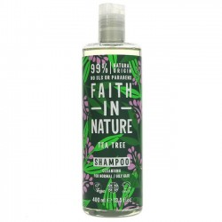 SHAMPOO - TEA TREE (Faith in Nature) 400ml