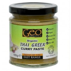 THAI GREEN CURRY PASTE (Geo Organic) 180g
