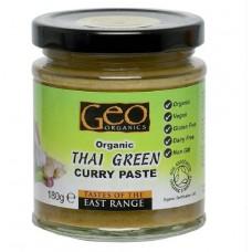 THAI GREEN CURRY PASTE (Geo Organic) 180g